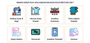 Sablon Kaos Terdekat di Surabaya